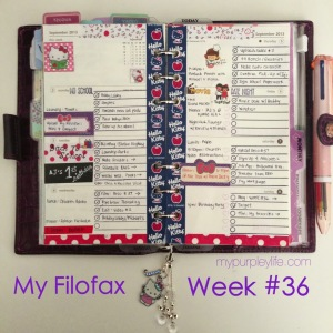 my purple life filofax